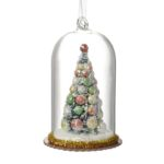 Glass Dome Christmas Tree